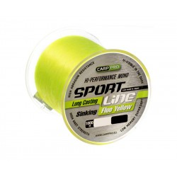 Леска Carp Pro Sport Line Fluo Yellow 1000м 0.310мм