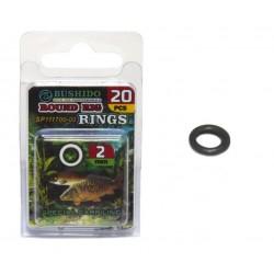Колечки /BUSHIDO/ монтажные,запаянные Round Rig Ring d-2.0mm (уп.20шт)
