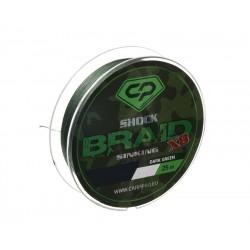 Шок-лидер Carp Pro Shock Braid PE X8 0.16мм 25м Dark Green