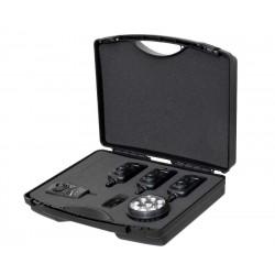 Carp Pro Набор сигнализаторов поклевки Hastam 3+1 электронный лампа