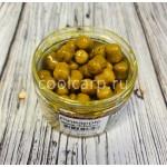 Бойлы вареные насадочные 12 мм, dumbells, Hi-Attract, Pineapple (ананас + N-Butyric), банка, 110 грамм