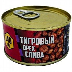 LION BAITS Тигровый орех консервированный (слива) - 140 мл