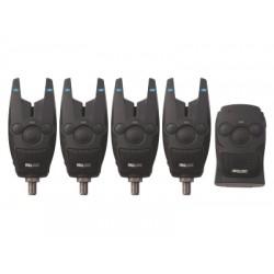 Набор сигнализаторов Prologic BAT+ Bite Alarm Blue Set 4+1