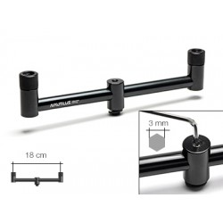 Перекладина буз-бар Nautilus Blacktron 2 rod Buzzbar 20cm NBB-220 на 2 удилища