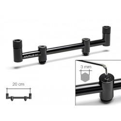 Перекладина снэг-бар Nautilus Blacktron 2 rod Snagbar 22cm NSB-222 на 2 удилища