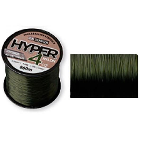 Леска монофильная Ron Thompson Hyper 4oz Nylon, 0.30мм, 1200м, 6.8кг, зеленая