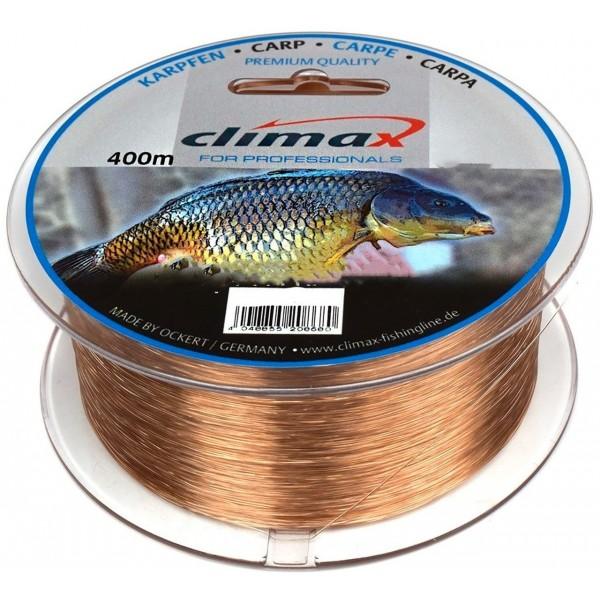 Леска карповая 0.28 мм Коричневая Сlimax (Клаймакс) - Speci-Fish Carp Brown 6.7 кг, 400 м