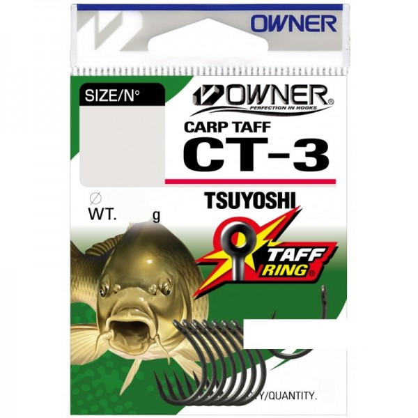 OWNER Крючок Carp Taff Tsuyoshi teflon №4 7шт