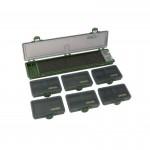 Коробка карповая Carp Pro 6 коробок и поводочница