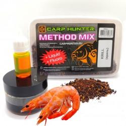 Method mix Pellets + Fluoro + Liquid Krill (криль)