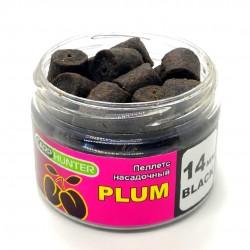 Пеллетс насадочный 14мм Black Halibut Plum (Слива) 100мл