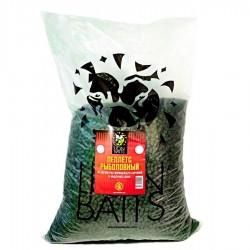 Пеллетс рыболовный медленно растворимый Lion Baits (12 мм) зеленый бетаин - 15кг