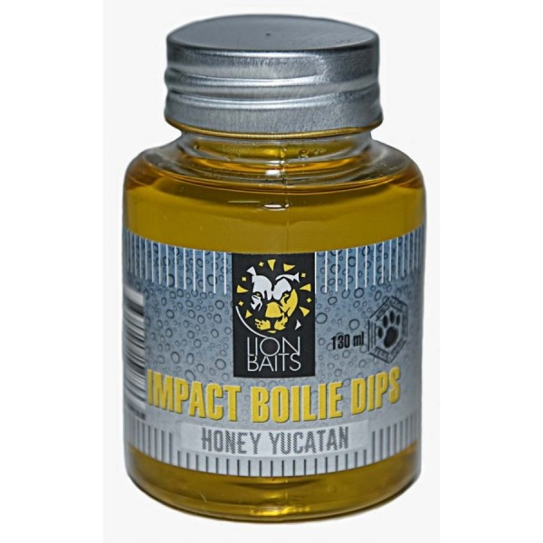 LION BAITS Impact Boilie Dips мед Юкатан (Honey Yucatan) - 130 мл