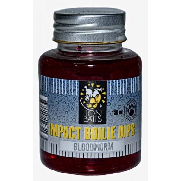 LION BAITS Impact Boilie Dips мотыль (Bloodworm) - 130 мл