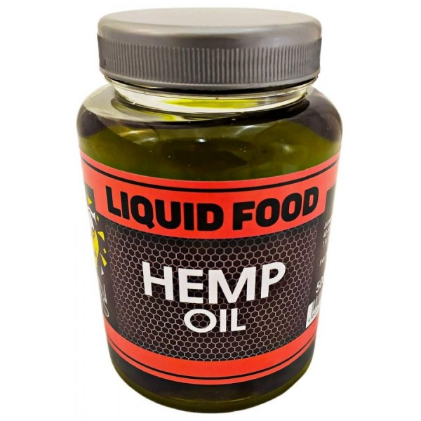 LION BAITS Жидкий ликвид LIQUID FOOD HEMP OIL - 500 мл