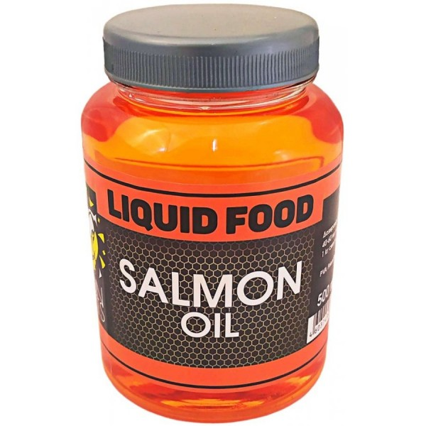 LION BAITS Жидкий ликвид LIQUID FOOD SALMON OIL - 500 мл