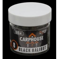 Пеллетс насадочный Carp House Black Halibut 8 мм