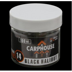 Пеллетс насадочный Carp House Black Halibut 14 мм