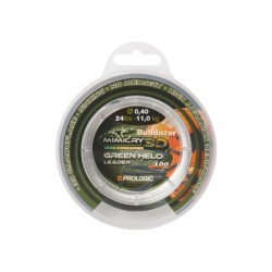 Шок-лидер Prologic Mimicry Green Helo Leader 100m 0.40mm 11.0kg 24lbs зеленый