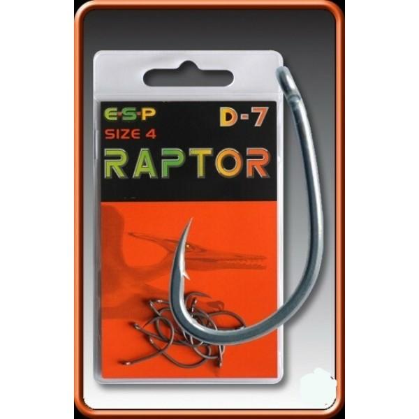 ESP крючки Raptor D-7 №9, №10