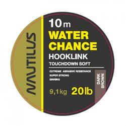 Поводковый материал Nautilus WaterChance 20lb 10м Dark Brown