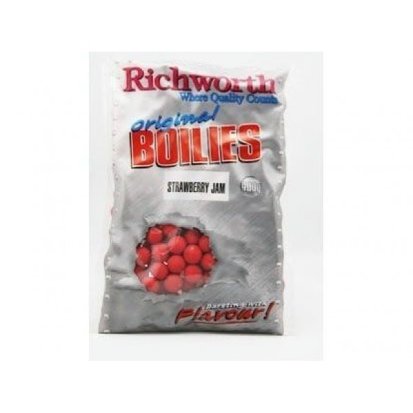Richworth бойлы Original Strawberry Jam (Клубничный Джем) 400г 15 мм