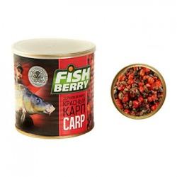 Смесь зерновая FISHBERRY Карп красный (клубника) 430мл