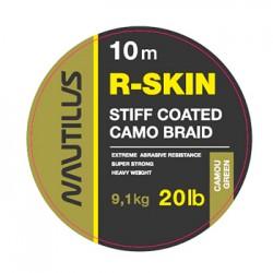 Поводковый материал Nautilus R-Skin 20lb 10м Camou Green