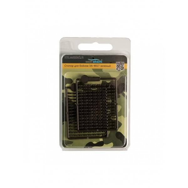 Стопор для бойлов (уп/2 шт) XA-9017 зеленый