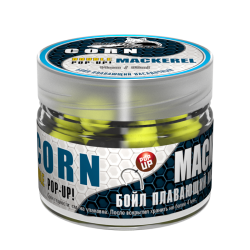 Бойл насадочный-плавающий Double Pop-Up 14 мм Corn/Mackerel (Кукуруза/Макрель)