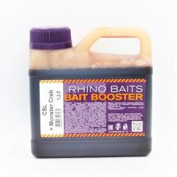 Ликвид Rhino Baits Booster Liquid Food CSL + Monster Crab (кукурузный ликер + краб и черный перец), канистра 1,2 литра