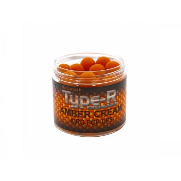 Richworth плавающие бойлы Type-R Amber Cream (Янтарный Крем)