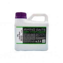 Ликвид Rhino Baits Baits Booster Liquid Food CSL + Dark Plum (кукурузный ликер + темная слива), канистра 1,2 литра