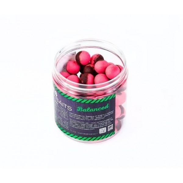 Бойлы нейтральной плавучести 14 мм Кальмар (Кракен) / Клюква Rhino Baits (Рино Бэйтс) - Balance Boilies Kraken / Cranberry