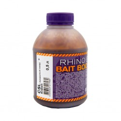 Ликвид Rhino Baits Baits Booster Liquid Food CSL + Kraken (кукурузный ликер + кальмар и фрукты), банка 0,5 литра