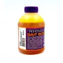 Ликвид Rhino Baits Baits Booster Liquid Food CSL + Pineapple N-Butyric (кукурузный ликер + ананас с масляной кислотой), банка 0,5 литра