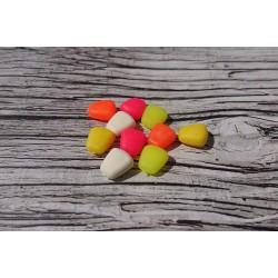 Силиконовая кукуруза pop-up multicolor fluo (разноцветная флуоресцентная) без дипа