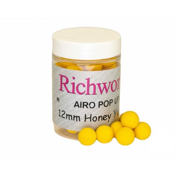 Richworth плавающие бойлы Honey Yucatan (Мёд) 12 мм
