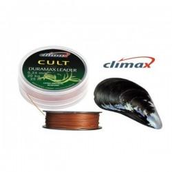Плетеный шок лидер Climax CULT Duramax Leader 25м /0,35мм (Коричневый)