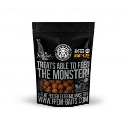 FFEM Soluble Пылящие Boilies Honey Corn Мёд - Кукуруза 22mm