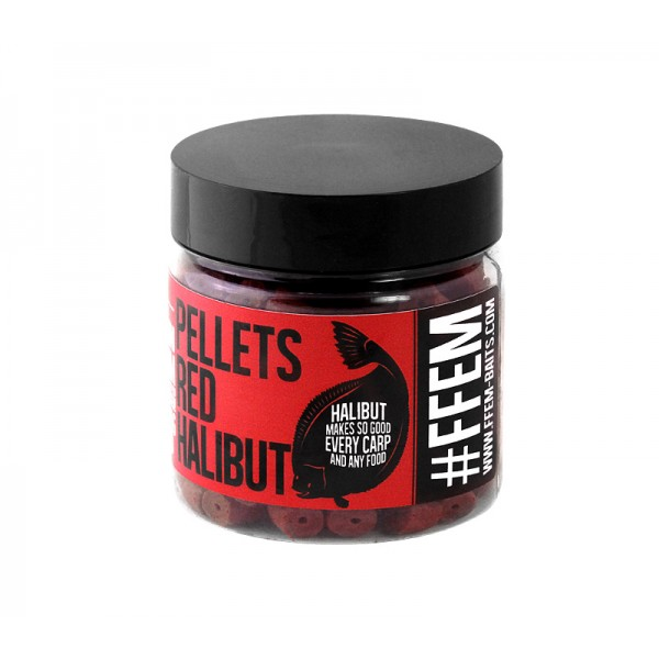 FFEM Hookbaits Pellets Red Halibut Красные Палтус 14mm
