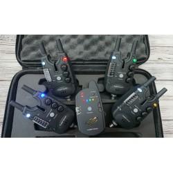 Сигнализаторы с пейджером 4+1 с Антивором в комплекте с боковыми держателями SnagBar