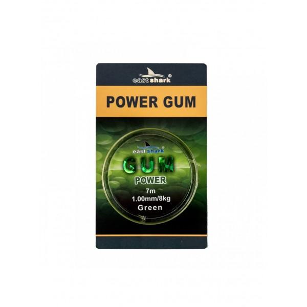 POWER GUM GREEN 7 М 1.0 ММ