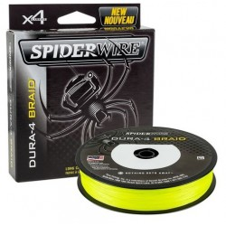 Плетеный шнур SPIDERWIRE Dura 4 Yellow 150 м (0.20 мм)