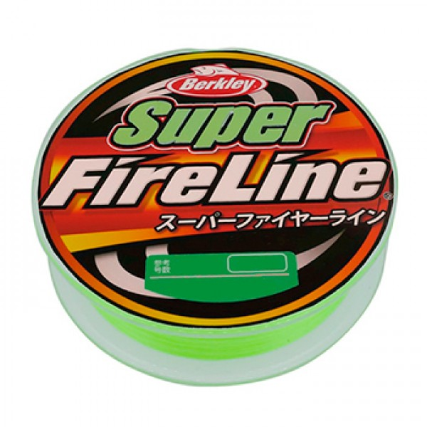 Плетеный шнур BERKLEY Super FireLine PE Green 1.5 150 м, 0,205 мм