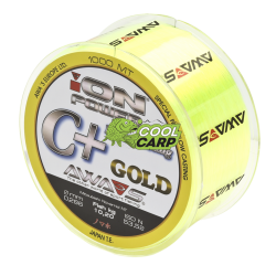 КАРПОВАЯ ЛЕСКА AWA'S ION POWER C+ HYPER CASTING GOLD AWA'S 4,76кг