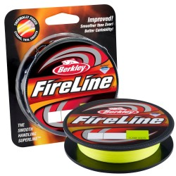 Шнур Berkley Fireline 110м 0,25мм Flame Green