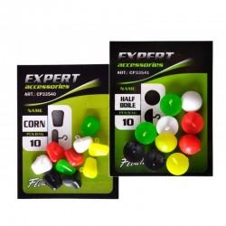 Плавающие стопора для бойлов Carp Pro Mix Color кукуруза 10шт