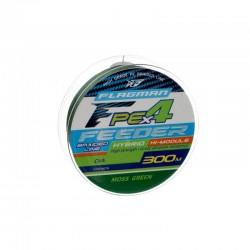 Шнур Flagman PE Hybrid X4 Feeder Moss Green 300м 0.14мм