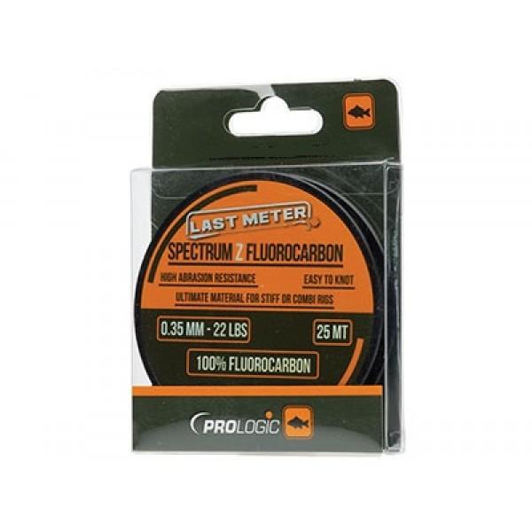 Флюорокарбон Prologic Spectrum Z Fluorocarbon 25m 0.35mm 22lbs бесцветный
